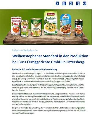 Applikationsbericht Buss Fertiggerichte GmbH